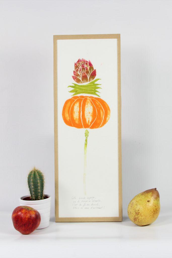 Fruits et légumes moyens