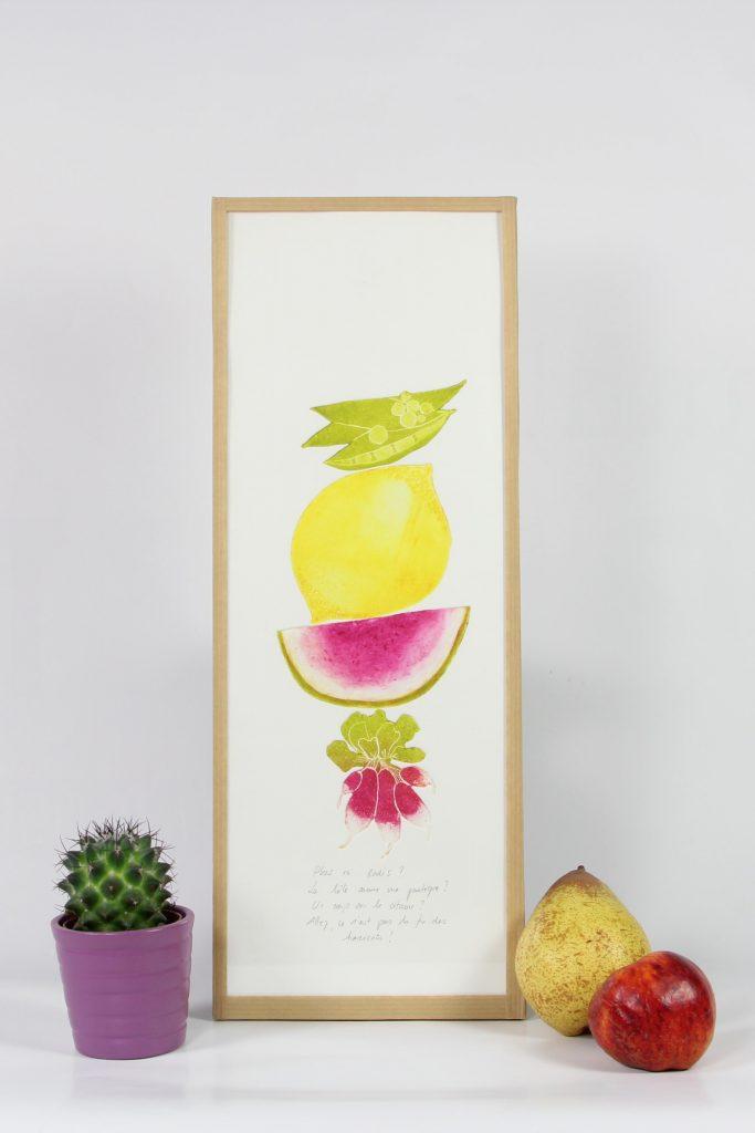 3 Fruits et légumes moyens